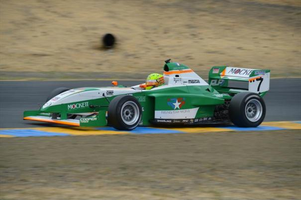2014 Pro Mazda presented by Cooper Tire Champion Spencer Pigot showed amazing pace all season long.  (Photo Courtesy of Andersen Promotions)