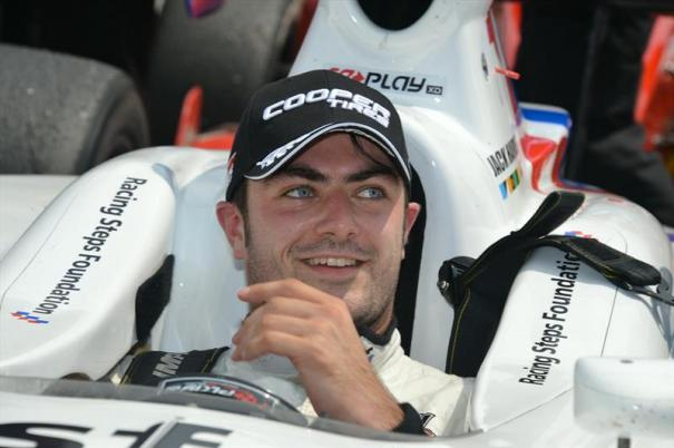 Schmidt Peterson Motorsports rookie Jack Harvey led the most laps in the 2014 Indy Lights presented by Cooper Tire season AND also completed every possible lap